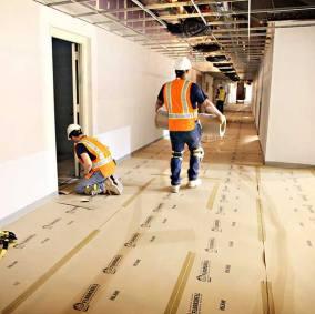 FloorShell® Heavy Duty Temporary Surface Protection Image 1
