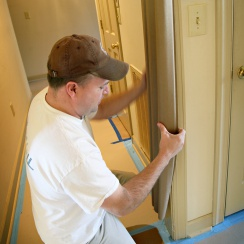 door jamb protector installation