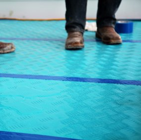 Aqua Shield® PE-Coated Flooring Seam Tape Image 1