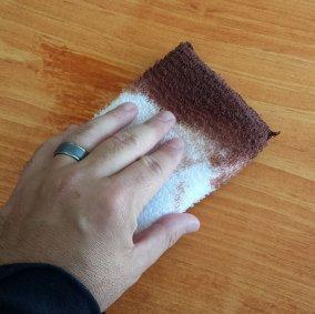 SuperTuff® Terrycloth & Sponge Staining Pad Image 2