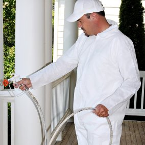 SuperTuff® Polypropylene Painter's Coveralls Image 2