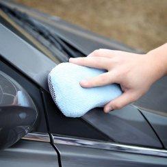microfiber scrubbing sponge
