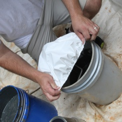 Paint Bucket Cover- miscellaneous surface protection