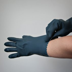 High-grade Chemical Protective Gloves Image 1