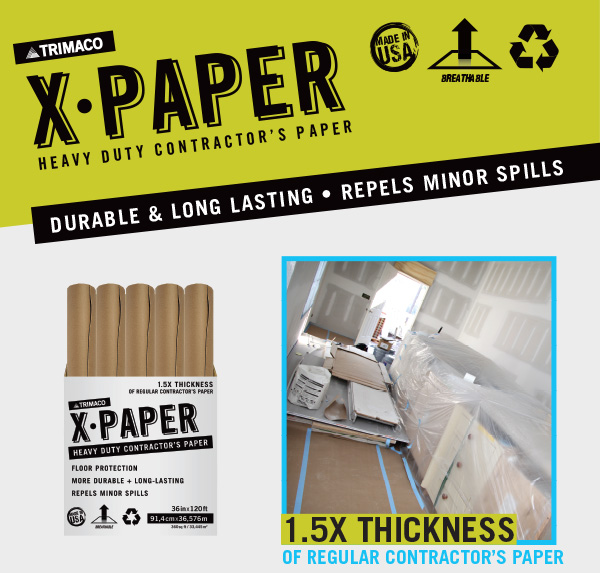X•Paper: Heavy Duty Floor Protection