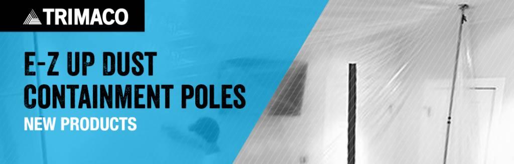 dust barrier poles