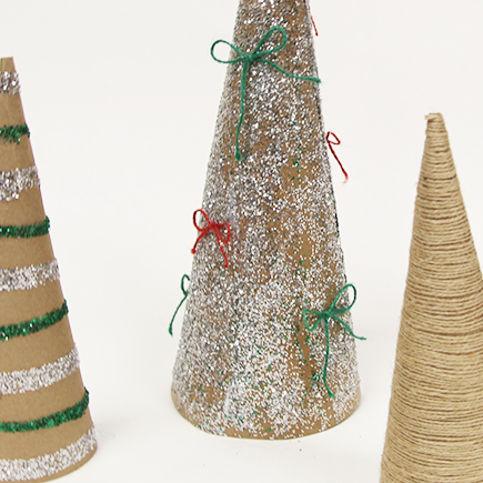 Holiday X-Paper Trees DIY