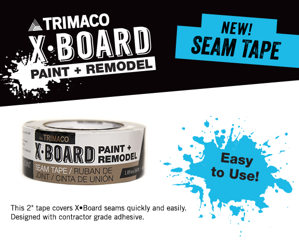 X-Board Seam Tape News
