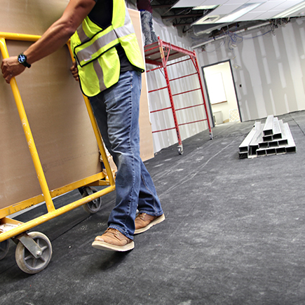 Adhesive Floor Protector