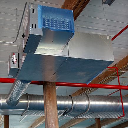 HVAC duct film