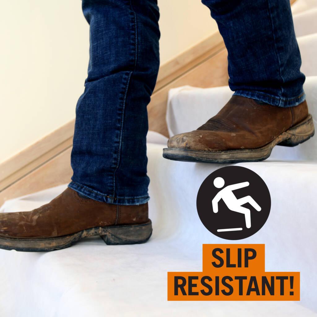 slip resistant drop cloth